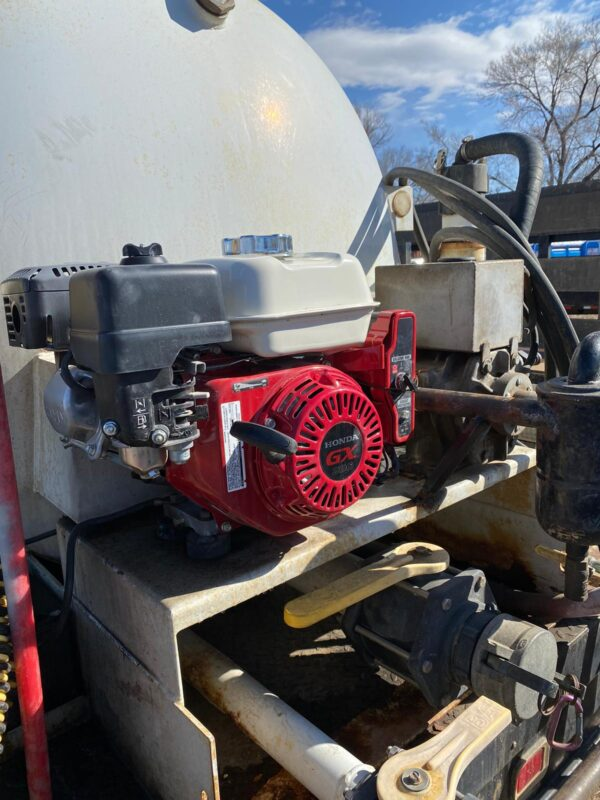 Slide-in Tank with new Honda engine and rebuilt pump